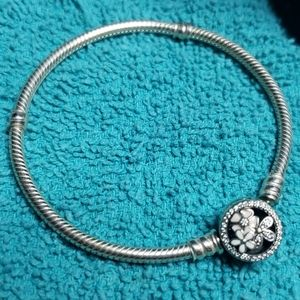 Authentic pandora charm bracelet